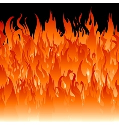 Fire flames wallpaper vector