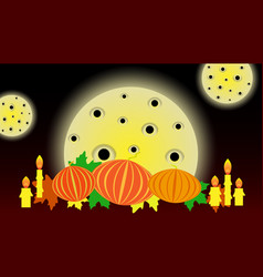 Holiday banner for all saints day or halloween vector
