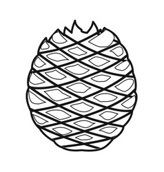 Isolated object agave and tequila logo web vector