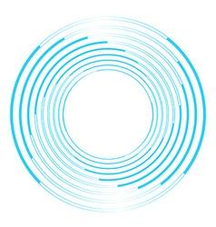 Isolated vortex on background vector