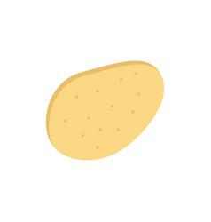 potato food flat color icon icon banner template vector image