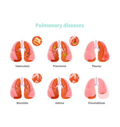 Pulmonary disease vector