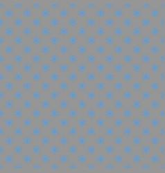 Seamless simple geometrical snow flake pattern vector