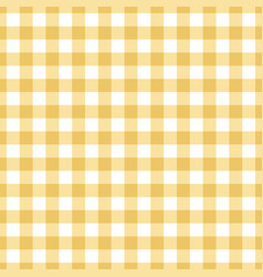 seamless yellow tablecloth texture vector image