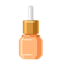 serum for face of object on white vector image