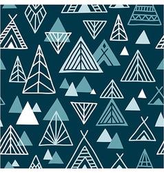 Strange journey - seamless pattern vector