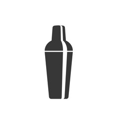 cocktail shaker icon vector image vector image
