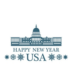 Greeting Card United States of America vector image
