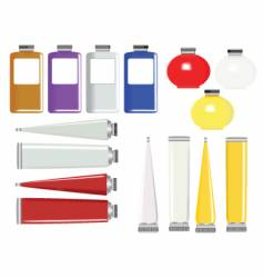 product tubes vector image vector image
