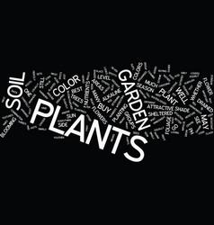 Bestplants text background word cloud concept vector