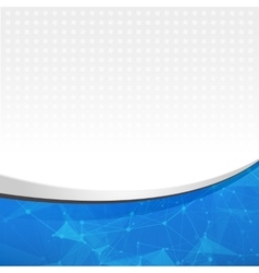 Abstract blue light template background Abstract vector image