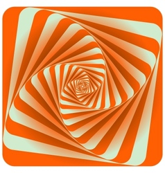 Abstract Spiral Background Orange vector