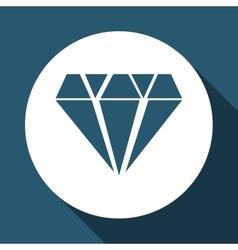 Casino diamond design vector