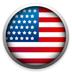 flag of united states editable vector image