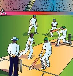 Istock cricket0015 vector