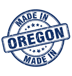 Made in oregon vector