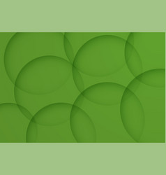 Modern olive drab backgrounds abstract 3d circle vector
