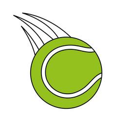 Tennis ball icon image vector