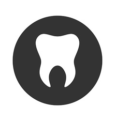 Tooth icon Logo template of tooth Dental symbol vector image