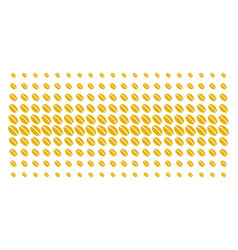 Wheat seed shape halftone effect vector