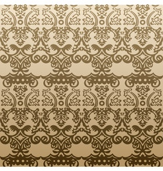 seamless background vintage vector antique vector image vector image