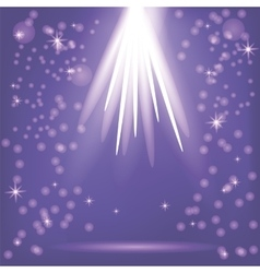 Blue Rays of Magic Lights vector image