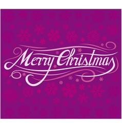 Christmas card - merry christmas vector