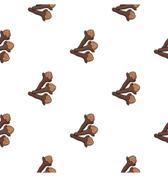 Clove icon in cartoon style isolated on white vector