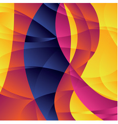 concept geometric colorful background vector image