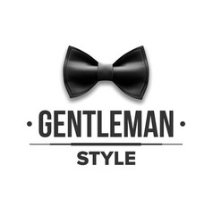 gentleman label design victorian fashion vector image