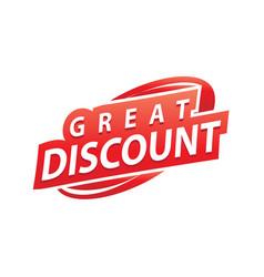 Great discount vector