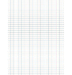 paper sheet realistic vector image