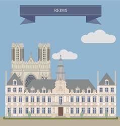 Reims vector image
