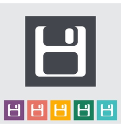 Save icon vector image