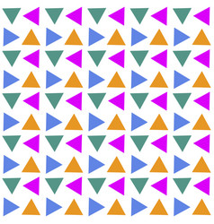 seamless geometric pattern abstract triangle vector image