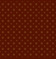 Seamless geometric snowflake pattern wallpaper vector
