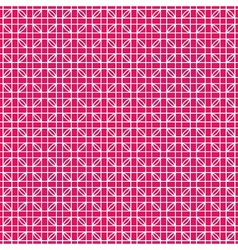 Weaving pink pattern vector image