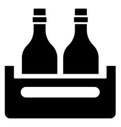 wine bucket vector image