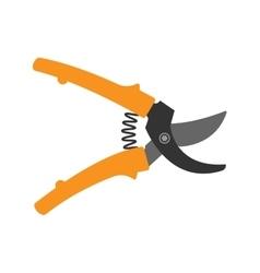 Garden scissor vector image