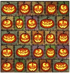 Halloween shabby background vector image