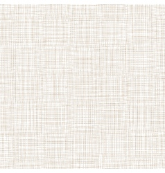 Background With Threads White Brown Linen vector image vector image