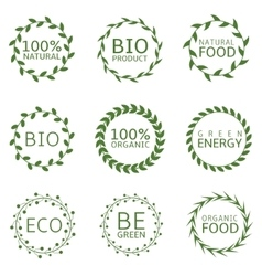 Bio label set vector