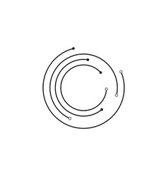 circuit ilustration vector image