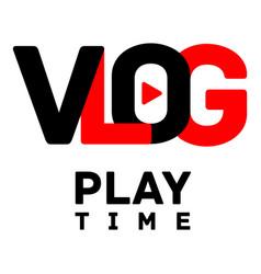 Daily radio logo flat style vector