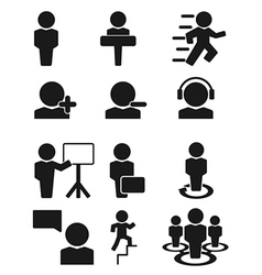 Man person people icon vector image