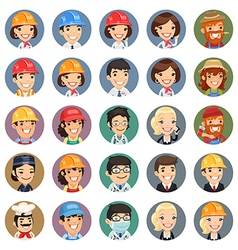 professions icons set1 1 vector image
