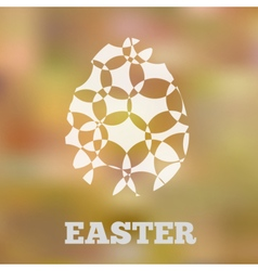 Eggblur vector image vector image