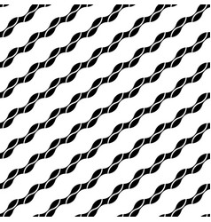 Black and white geometric seamless pattern modern vector