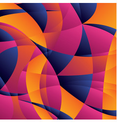 Concept geometric colorful background vector