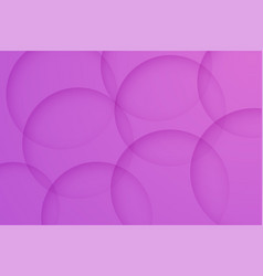 Modern orchid backgrounds abstract 3d circle vector